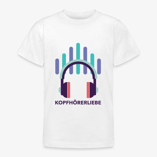 kopfhörerliebe - Teenager T-Shirt