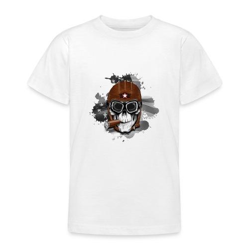 20-16 AMERICAN PILOT - SKULL - USA - LAHJATUOTTEET - Nuorten t-paita