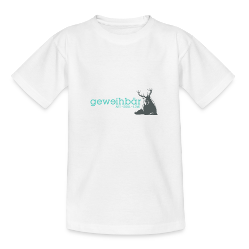 geweihbär colored - Teenager T-Shirt