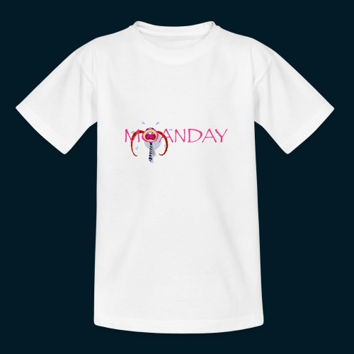 MOANDAY Girl blues - Teenager T-shirt