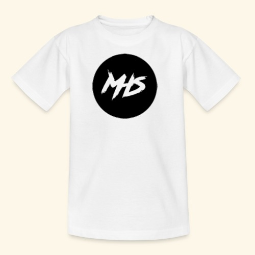 Watermerk - Zwart - Teenager T-shirt