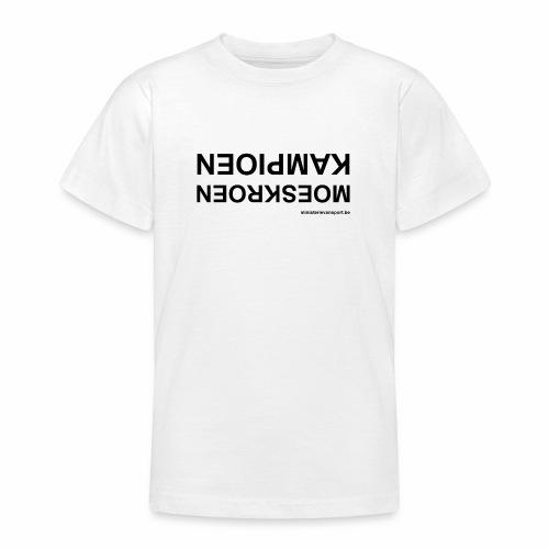 Moeskroen Kampioen - Teenager T-shirt