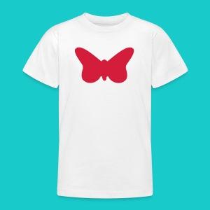 Butterfly sailing class logo - Teenager T-Shirt