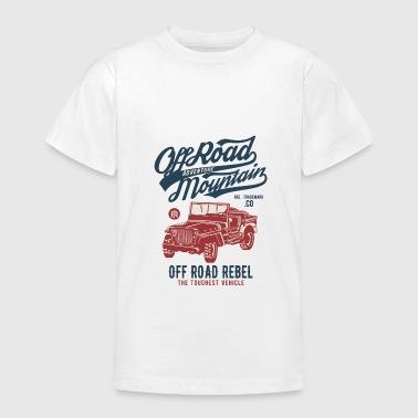 OFF ROAD JEEP - Jeep Shirt Motiv - Teenager T-Shirt