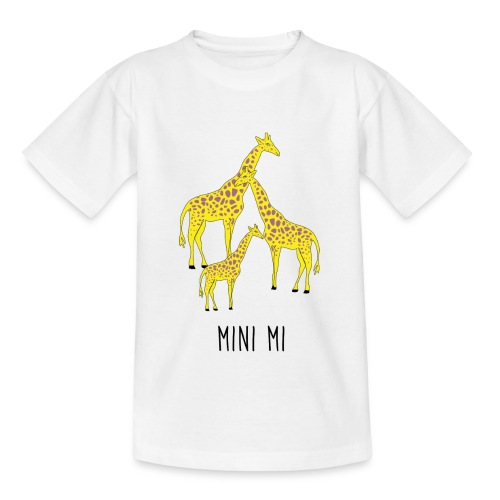 Giraffen Familie - Teenager T-Shirt