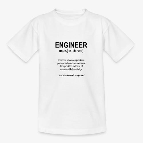 Engineer Def. 1 (Black) - T-shirt Ado