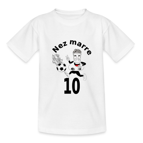 Nez marre football humour FC - T-shirt Ado