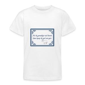 Tegeltje-Geit - Teenager T-shirt