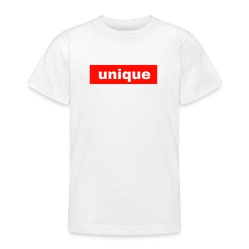 unique - Teenage T-shirt