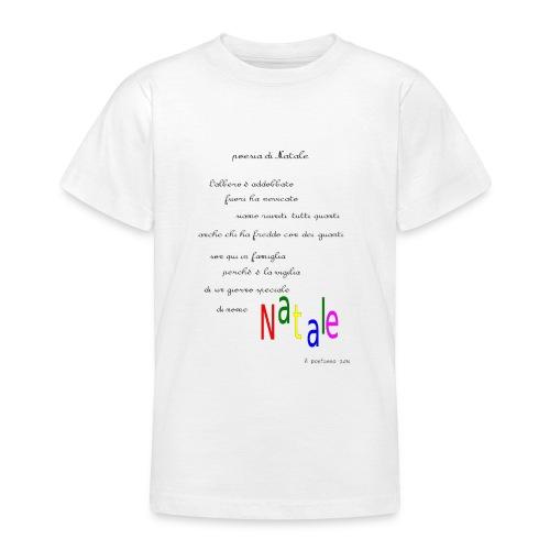 Poesia di Natale 2016 - Maglietta per ragazzi