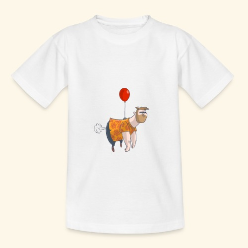 Ballon man - Teenager T-shirt