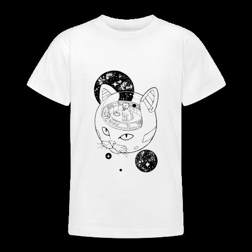 Kosmiczny Kot Imperator - Koszulka młodzieżowa