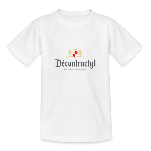skateboard decontractyl - T-shirt Ado