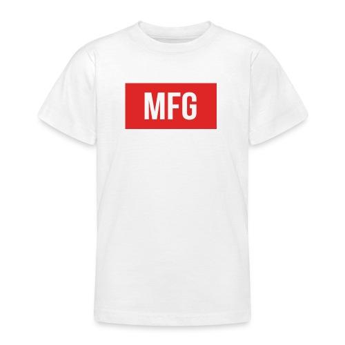 MFG on Youtube Logo - Teenage T-shirt