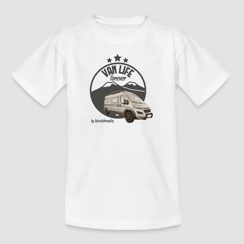Vanlife forever retro - Teenager T-Shirt
