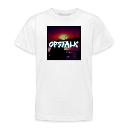 OpsTalk Logo - Teenage T-Shirt