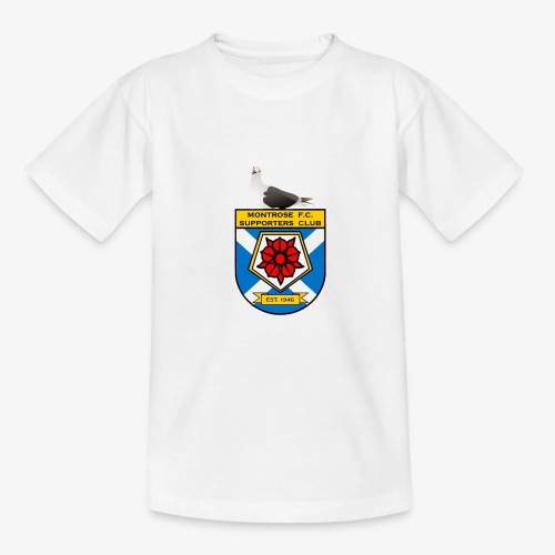 Montrose FC Supporters Club Seagull - Teenage T-Shirt