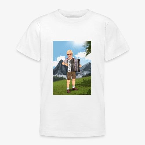 Bauer Adi mit Harmonie - Teenager T-Shirt