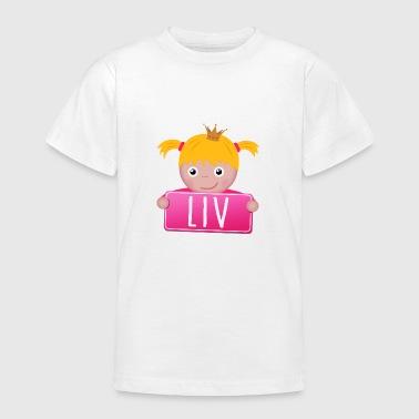 Little Princess Liv - Maglietta per ragazzi