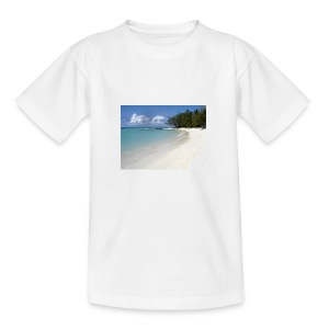 plage-ile-maurice - T-shirt Ado