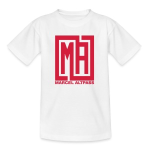 Marcel Neu neu Schwarz Einfach - Teenager T-Shirt