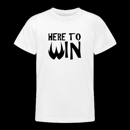 HERE TO WIN - T-shirt Ado