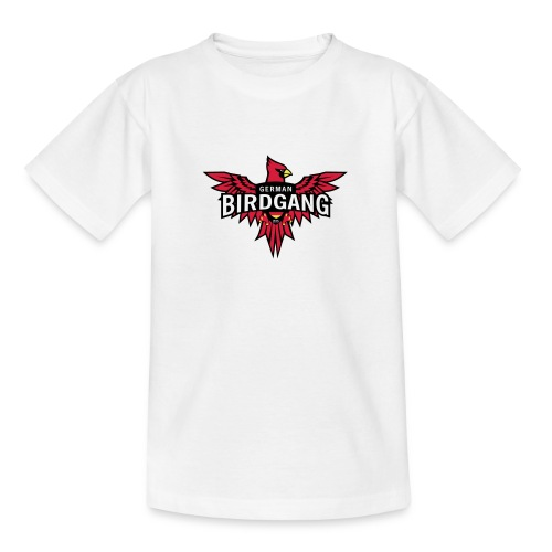 German Birdgang Logo White - Teenager T-Shirt