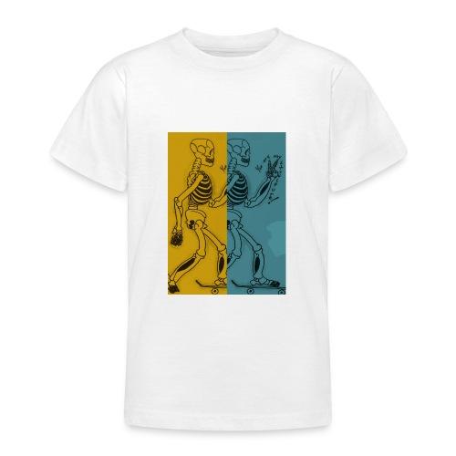 Esqueleto skater: You are my structure! - Camiseta adolescente