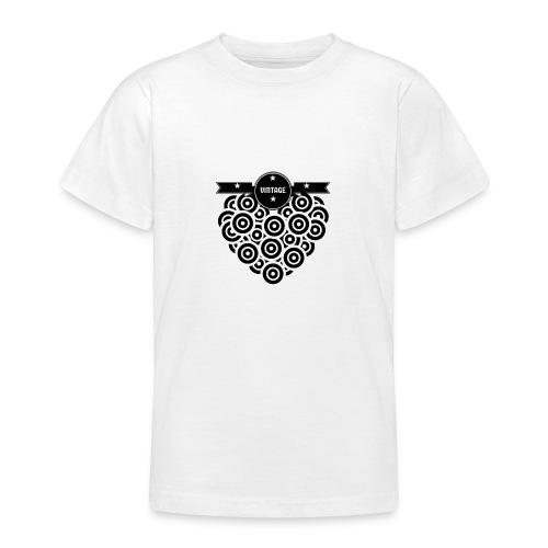 COEUR VINYL VINTAGE - T-shirt Ado