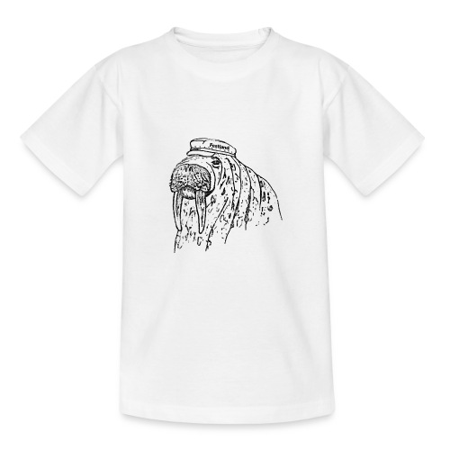 festland walrus - Teenager T-Shirt