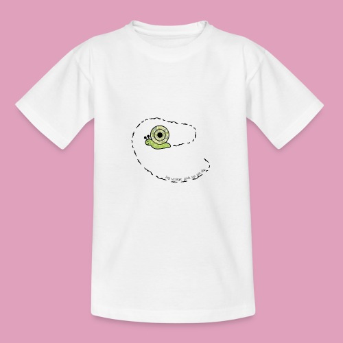 Petit escargot porte sur son dos... - T-shirt Ado