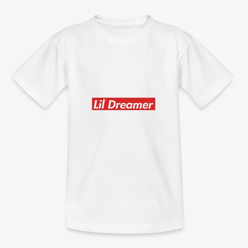 Lil Dreamer - Red Box Design - Teenage T-Shirt