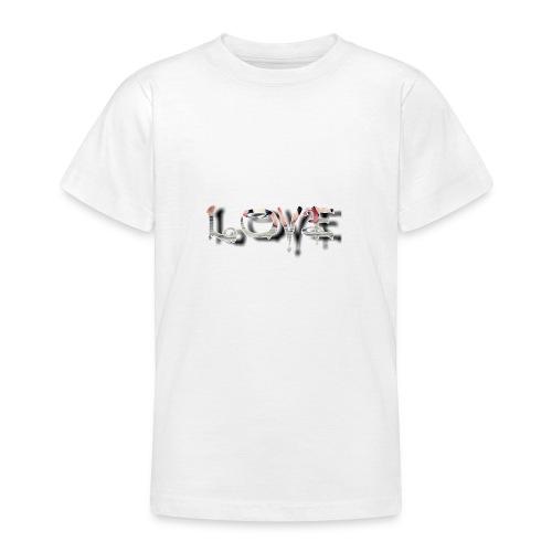 LOVE - T-shirt Ado