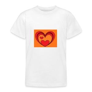 hart-png - Teenager T-shirt
