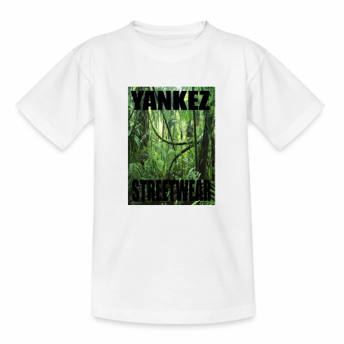 Yankez Backprint Jungle - Teenager T-Shirt