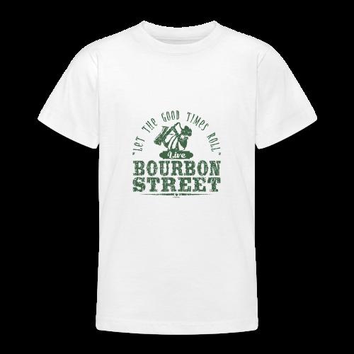 15-9 LIVE BOURBON STREET TEKSTILES, GIFT WEBSHOP - Nuorten t-paita