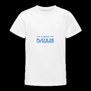 Te quiero Playa de Las Canteras - Camiseta adolescente