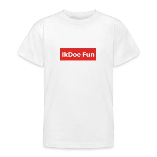IkDoe Fun Box Logo - Teenager T-shirt