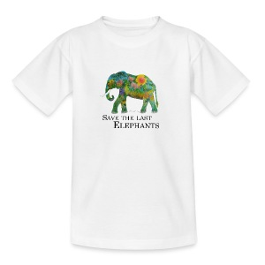Save The Last Elephants - Teenager T-Shirt