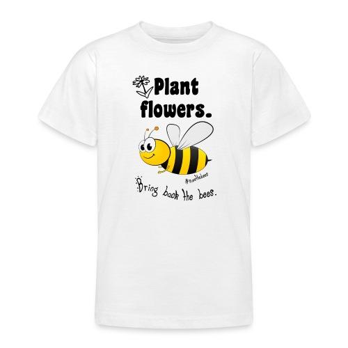 Bees8-2 Bringt die Bienen zurück!   Bookrebels - Teenage T-Shirt