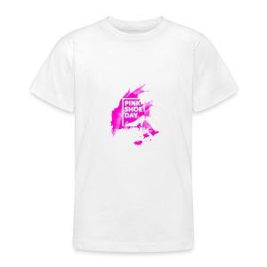 Pink Shoe Day - Teenager T-Shirt