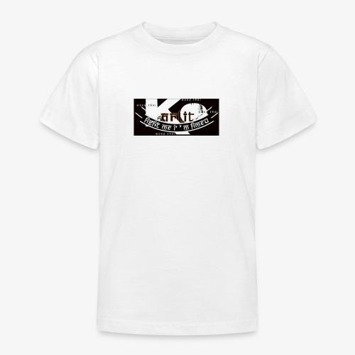 logo karlito black n gold - T-shirt Ado