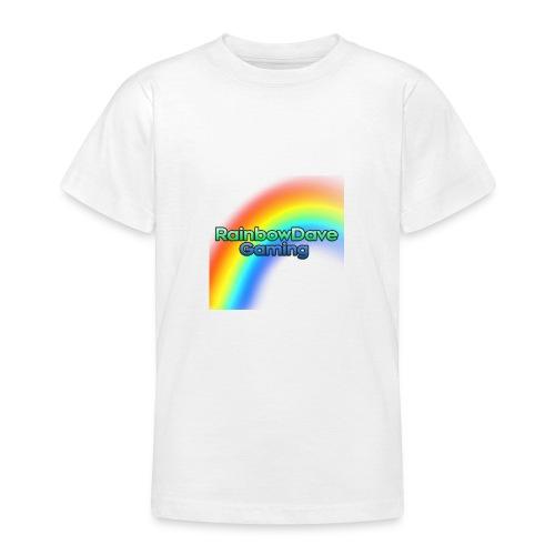 RainbowDave Gaming Logo - Teenage T-Shirt