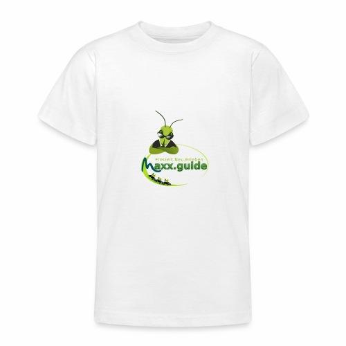 Freizeit.Neu.Erleben mit maxx.guide! - Teenager T-Shirt