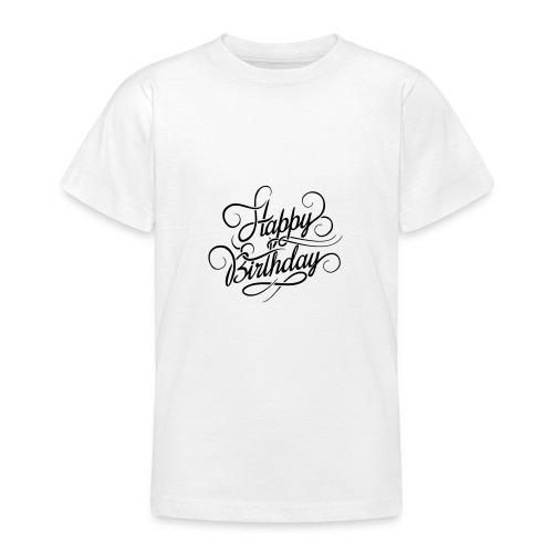 happy birghday - Koszulka młodzieżowa