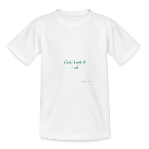 Simplement moi bio - T-shirt Ado