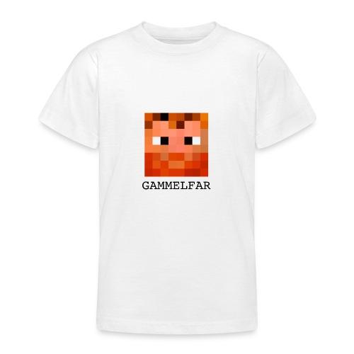 Gammelfar logo - Teenager-T-shirt