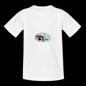 Fatherhood Badly Doodled - Teenage T-shirt