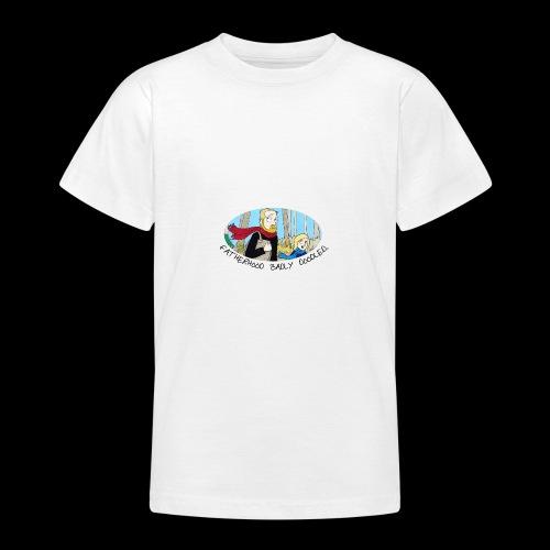 Fatherhood Badly Doodled - Teenage T-shirt