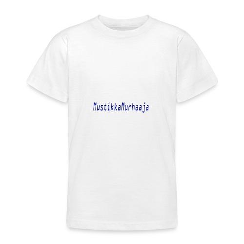 mustin tuotteet - Nuorten t-paita